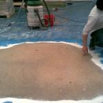 polissage de sol en béton